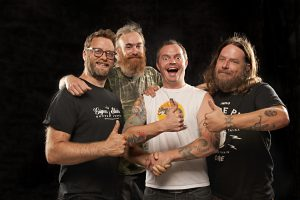 Red Fang, am 22.10. im Skaters Palace. (Foto: Pressefoto)