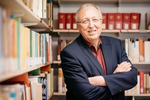 """Prof. Dr. Hans-Peter Großhans ist Präsident der """"European Academy of Religion"""" (EuARe) und Hauptorganisator ihrer Jahrestagung in Münster. (Foto: Bruno Biermann)"""