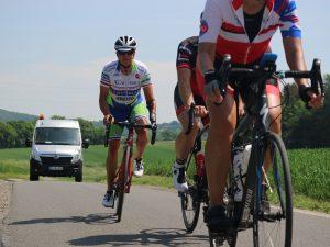 600 Kilometer fuhren die Rennradfahrer auf der RennFietsen Tour durch das schöne Münsterland. (Foto: Carmen Gunia)