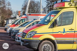 Für die große Evakuierung in Mauritz stehen auch die Hilfsorganisationen in den Startlöchern. (Archivbild: Carsten Pöhler)