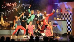 """Das Ensemble von """"Rockabilly"""" (Foto: GOP)"""