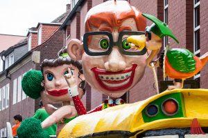 Vorfahrt für den Straßenkarneval in Hiltrup und Wolbeck. (Foto: sg)