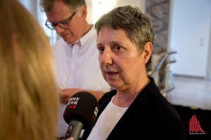 Prof. Dr. Elisabeth Meyer von der Uni Münster. (Foto: Michael Bührke)