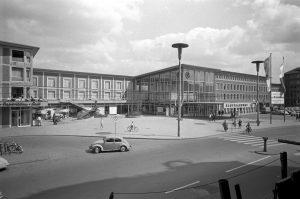 Der Hauptbahnhof Münster im Jahr 1960. (Foto: Westfälisches Industriemuseum)