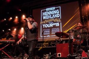 Sänger und skate-aid Unterstützer Henning Wehland beendete den Abend. (Foto: sg)