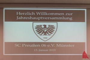 Dank einer Satzungsänderung ist das Vereinswappen mit dem Preußenadler nun besonders geschützt. (Foto: Carsten Pöhler)