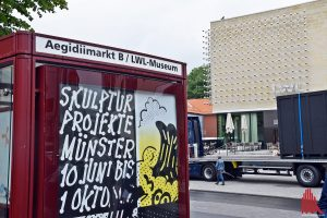 Vom 10. Juni bis 1. Oktober beleben die Skulptur.Projekte unsere Stadt. (Foto: so)