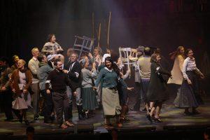"""Das Freie Musical-Ensemble Münster (FME) zeigt das neue Stück """"Parade"""". (Foto: FME)"""