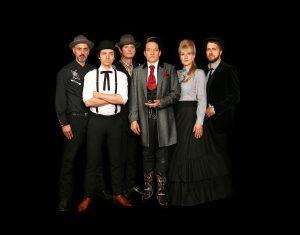 """Das """"Sartana""""-Ensemble (Foto: Konstanze Habermann)"""