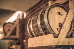 Hier lagert der Münster-Whisky für ein Jahr. (Foto: Matthias Höing/Feinbrennerei Sasse)