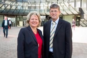 Svenja Schulze und Thomas Marquardt. (Foto: Pat Röhring)