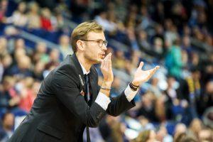 Der neue WWU Baskets-Sportdirektor und Cheftrainer Björn Harmsen. (Foto: Christoph Worsch)
