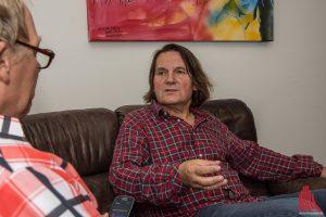 """""""so aufgeregt wie heute war ich schon seit 40 Jahren nicht mehr"""" - Detlev Jöcker im Interview (Foto: th)"""