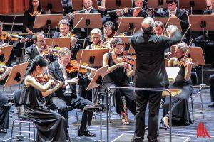 1. Sinfoniekonzert - Anton Bruckners Sinfonie Nr. 8 c-Moll. (Foto: bk)
