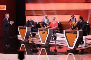 Lansink hat zusammen mit Sonja Zietlow und Bülent Ceyla das erfolgreiche Rateteam gebildet (Foto: ZDF, Frank W. Hempel)