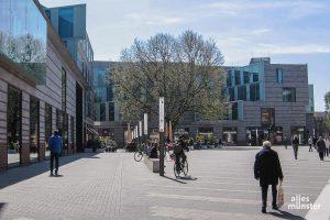 Der Einzelhandel darf ab kommenden Montag wieder öffnen, aber auch in Münster gilt nach der Corona-Schutzverordnung: Shoppen nur mit Termin. (Archivbild: Lissel)