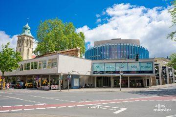 Das Theater Münster wird ab der Spielzeit 2022/2023 erstmals von einer Intendantin geführt. (Foto: Michael Bührke)