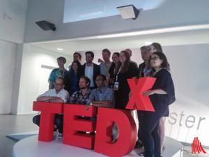 Die Teilnehmer der diesjährigen TEDx Münster. (Foto: ar)