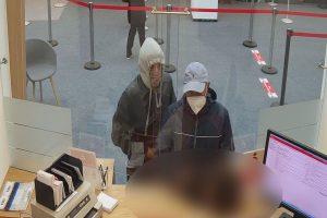 Das Bild zeigt die beiden Täter. (Foto: Polizei Münster)
