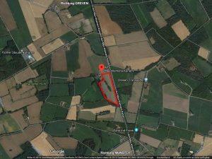 Die Daten für's Navi: Am Max-Klemens-Kanal 9 48268 Greven Koordinaten Google Maps: 52.0575169 , 7.5826361 (Bild: Screenshot)