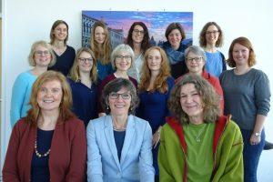 Das Team der Krebsberatungsstelle Münster. (Foto: KBS)