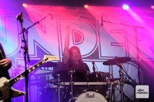 Thundermother-Drummerin Emlee Johansson. (Foto: Michael Wietholt)