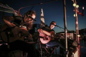 Im Hafen finden die TREIBGUT Konzerte auf der MS Anaconda statt. (Foto: André Eversloh)