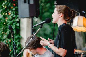 """Northern Acoustic Pop spielten """"måne"""" aus Münster. (Foto: Claudia Feldmann)"""