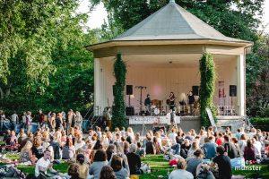 Der diesjährige Treibgut Saison-Auftakt im Schlossgarten. (Foto: Claudia Feldmann)