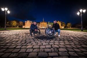 """Amir Marouf und Max Weldert (v.l.) sind die Gründer von """"tretty"""" (Foto: Thomas Mohn)"""