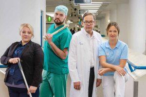 """Das UKM hautnah und quer durch alle Berufsgruppen: """"Die Klinik: Ärzte – Helfer – Diagnosen"""". (Foto: UKM / Wibberg)"""