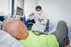 Bessere Bedingungen für Palliativ-Patienten: Prof. Philipp Lenz, Ärztlicher Leiter der Palliativmedizin am UKM. (Foto: UKM / Wibberg)