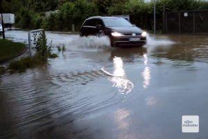 Als aus der Straße ein Fluss wurde... (Screenshot: Magda Mayerhoffer)
