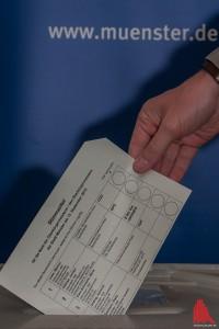 Alles Münster war heute wählen, macht auch Ihr mit! (Foto: sg)