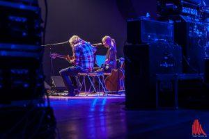 Stage-Time, Van der Forst auf der Bühne im Vorprogramm von Bonnie Tyler. (Foto: sg)