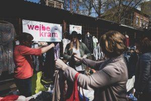 Der Mädelsflohmarkt Weiberkram kommt wieder nach Münster. (Foto: Weiberkram)
