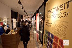 """Die Ausstellung """"WeltWeit.Unverzichtbar"""" ist bis zum 22. März im Archäologischen Museum zu sehen. (Foto: Michael Bührke)"""