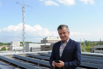 Prof. Dr. Otto Klemm ist Klimatologe am Institut für Landschaftsökologie der Uni Münster. (Foto: WWU Münster)