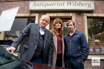 Wenn dieses Team auf dem Bildschirm auftaucht, ist beste Krimi-Unterhaltung made in Münster angesagt. (Foto: Bührke)