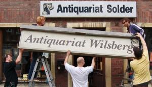 Beliebter Drehort für die Wilsberg-Filme: das Antiquariat Solder. (Foto: Antiquariat Solder)