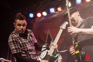 Gitarrenpower bei den Californiern von Zebrahead: Matty Lewis und Dan Palmer. (Foto: sg)
