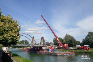 Damit Großmotorgüterschiffe und Schubverbände den Dortmund-Ems-Kanals befahren können, muss er breiter und tiefer werden und eine größere Durchfahrtshöhe erhalten. (Foto: Ralf Clausen)