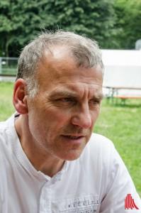 Andreas Garske kann sich auch dieses Jahr nicht über zu geringe Teilnahme beklagen. (Foto: th)