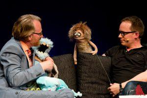 """""""Das wurde zu eng und zu fusselig"""" - Martin Reinl lebt nicht mehr mit seinen Puppen in einer WG. Auch nicht mit Traudl. (Foto: mh)"""