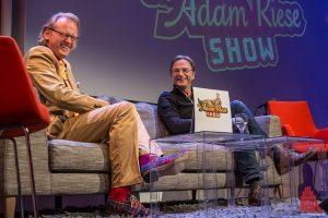 Ruhrpott-Kabarettist Fritz Eckenga brachte Adam Riese an den Rande der Beherrschung. (Foto: th)