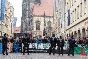 """Das Bündnis """"Keinen Meter den Nazis"""" ruft zum Protest gegen den Neujahrsempfang der AfD auf. (Foto: Archivbild: Thomas M. Weber)"""