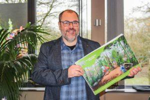 """Zoo-Direktor Dr. Thomas Wilms präsentiert den """"Masterplan 2013 plus"""".(Foto: n.n.)"""