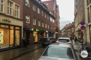 Kaum noch ein Durchkommen am Alten Fischmarkt. (Foto: Thomas Hölscher)