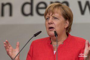 """Kanzlerin Angela Merkel hat ihre am Montag verhängte """"Osterruhe"""" gekippt. (Archivbild: Thomas M. Weber)"""