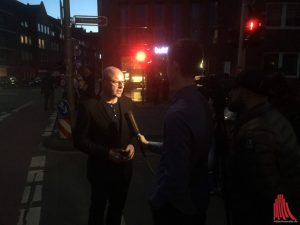 Oberbürgermeister Markus Lewe am Abend. (Foto: th)